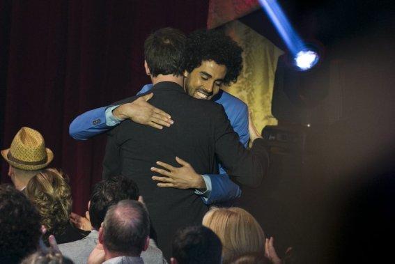 Adib Alkhalidey a remporté le prix Découverte de l'année. (Hugo-Sébastien Aubert, La Presse)