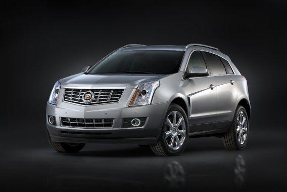 Le Cadillac SRX.