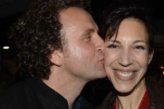 Les deux créateurs Daniel Brière et Evelyne de la Chenelière sont des adeptes du FTA. (Photo: Bernard Brault, La Presse)
