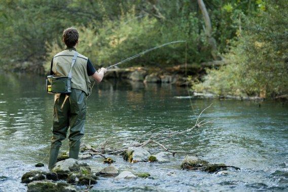 La pêche à la mouche gagne des adeptes chaque année. (Photo Pierre Gingras, La Presse)