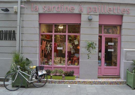 Dans les environs du quai Rive-Neuve, La Sardine à Paillette. (Photo: Violaine Ballivy, La Presse)