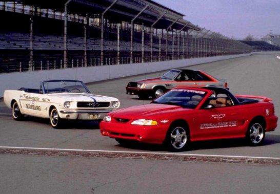 La Mustang a servi trois fois comme Pace Car à Indianapolis. (Photo courtoisie)