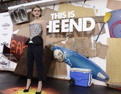 Emma Watson est de la nouvelle comédie This Is the End. (Photo: AP)