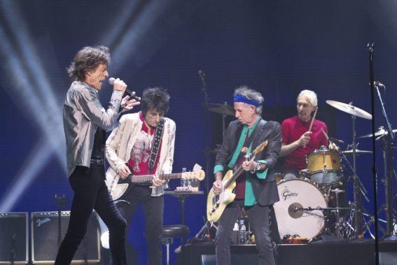 Les Stones ont offert une prestation d'un peu plus de deux heures dans laquelle ils ont enchaîné leurs succès dans ce que l'on pourrait qualifier de spectacle-rétrospective si le groupe ne faisait pas ce genre d'exercice depuis des décennies. (Photo: Hugo-Sébastien Aubert, La Presse)