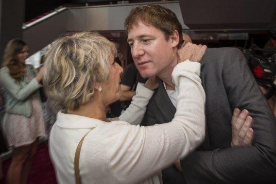 Denise Bombardier était très fébrile de voir le long métrage de son fils, Guillaume Sylvestre. (Photo: Olivier Pontbriand, La Presse)
