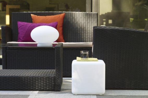 Cube modulaire blanc, 84,99$ (Photo fournie par Rona)