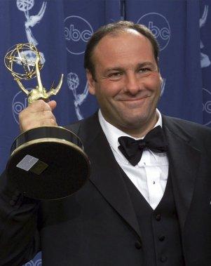 James Gandolfini a remporté trois prix Emmy pour son interprétation de Tony Soprano dans The Sopranos, série à succès diffusée par HBO entre 1999 et 2007. (AP)