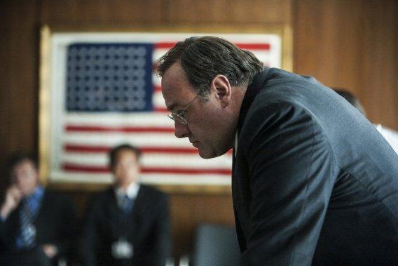 Gandolfini a incarné le directeur de la CIA dans le film de Kathryn Bigelow sur la traque d'Oussama ben Laden, Zero Dark Thirty (2012). (Columbia Pictures)