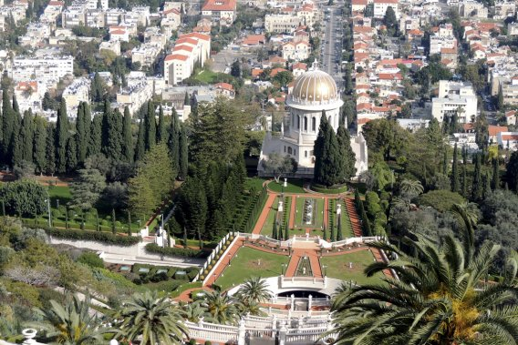 Haïfa vu des terrasses Bahaï. (Photo Sarah-Émilie Nault, collaboration spéciale)