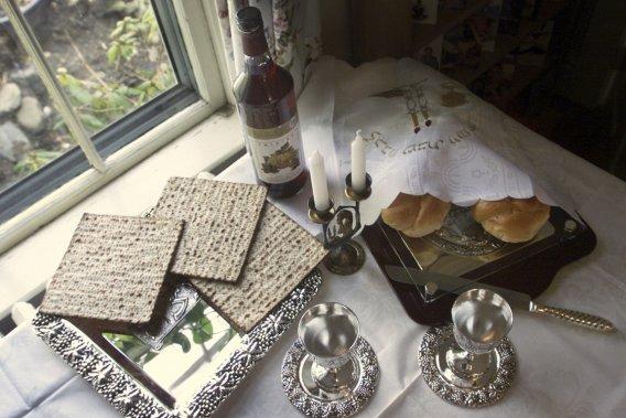 Le shabbat est célébré chaque semaine. (Photo AP)