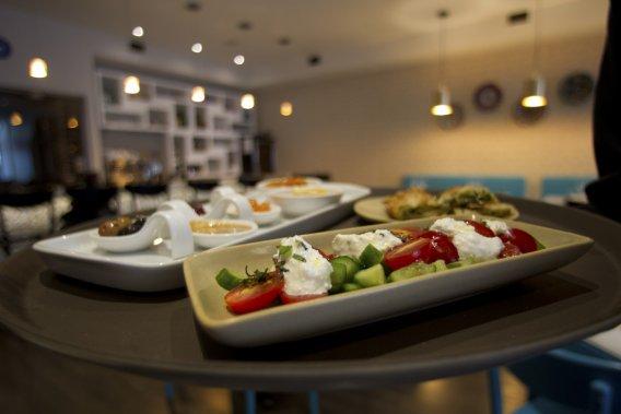 Le restaurant turc, Su (PHOTO OLIVIER JEAN, LA PRESSE)