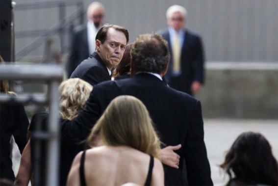 L'acteur Steve Buscemi était présent. (Photo: AFP)