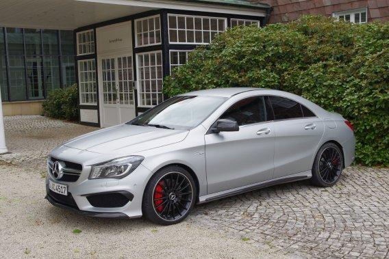 La CLA 45 AMG pourrait bien devenir le modèlele moins cherde la branche performance de Mercedes.