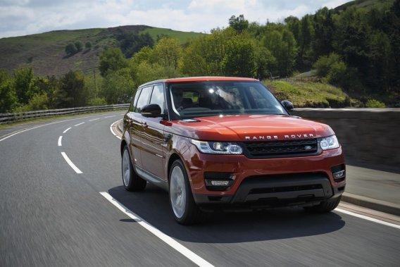 Land Rover doit présenter au prochain salon de Francfort, en septembre, deux modèles dotés d'un groupe motopropulseur hybride diesel. (Range Rover Sport présenté ci-haut).