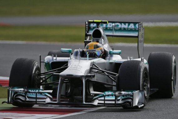 Le Britannique Lewis Hamilton (Mercedes)