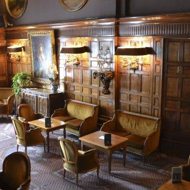 Tout en boiseries, le Négresco rappelle l'ambiance des pubs anglais les plus chics. (Photo Violaine Ballivy, La Presse)