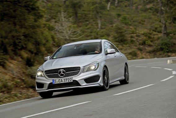 La nouvelle Mercedes CLA fait partie des modèles que le gouvernement français refusera d'immatriculer.