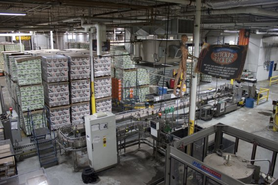 Magic Hat Brewing Company (Photo Catherine Schlager, La Presse)