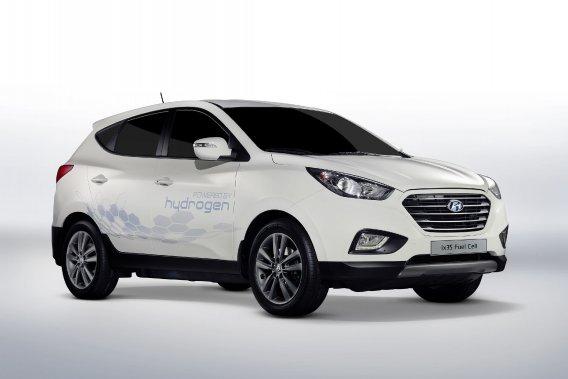 La semaine dernière, Hyundai a déployé à Londres cinq ix35 à pile à combustible, la version européenne du Tucson.