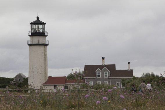 Phare sur la côte de Cape Cod. (Photo Pascale Breton, La Presse)
