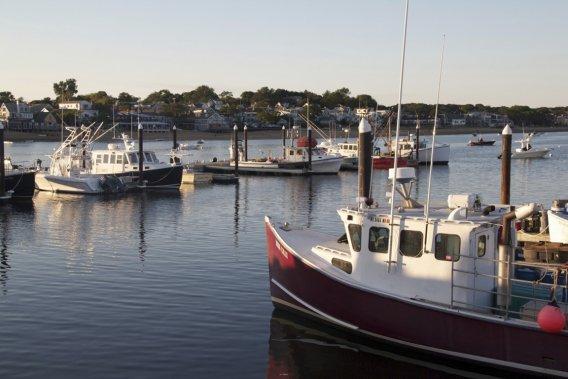 Petit village de pêche sur la côte. (Photo Pascale Breton, La Presse)