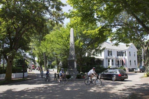 L'île de Nantucket. (Photo Pascale Breton, La Presse)