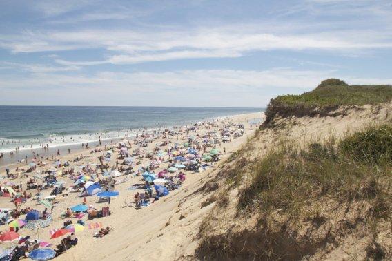 La célèbre plage de Cape Cod. (Photo Pascale Breton, La Presse)