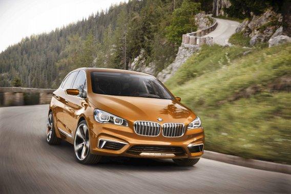 Présentée sous les traits d'une étude conceptuelle au Mondial de Paris l'année dernière, la BMW Active Tour préfigure l'arrivée de la Série 1.