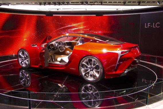 Le concept Lexus LF-LC présenté au Salon de Detroit 2012 sera visible dans les concessions d'ici 24 mois.