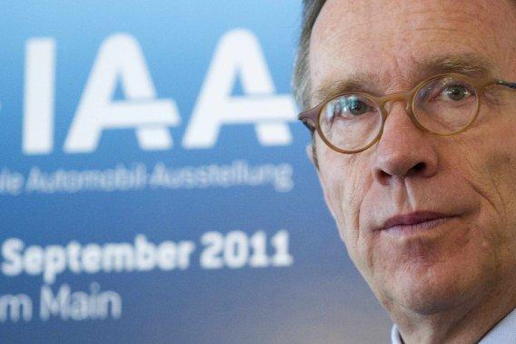 Matthias Wissmann, ministre des Transports d'Allemagne.