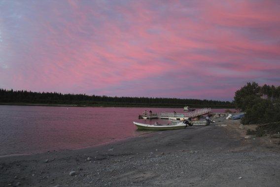 Les voyageurs qui bravent les conditions difficiles du trajet jusqu'à la Baie-James seront assurément récompensés par les beautés que la nature a à y offrir. (Photo Charles-Édouard Carrier, collaboration spéciale)