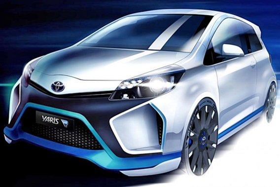 Toyota a réussi à concentrer pas moins de 420 chevaux dans cette Yaris hybride.