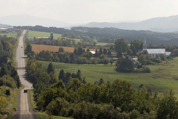 Le village est si discret, que les gens passent souvent à proximité sans s'y arrêter. (Photo Alain Roberge, La Presse)