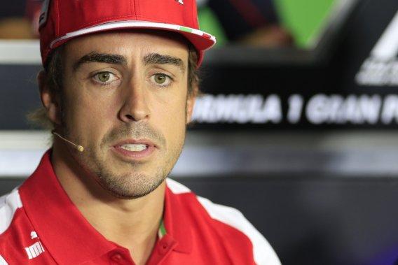 Fernando Alonso voudrait prolonger son contrat avec Ferrari.
