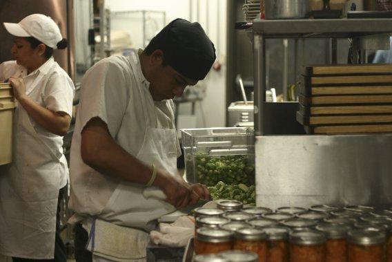 Le restaurant Underbelly met de l'avant les ingrédients locaux. (Photo Valérie Simard, La Presse)