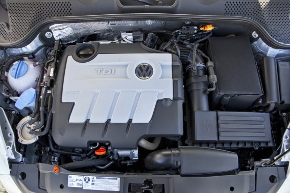 À la base du projet, un moteur Volkswagen a été modifié pour qu'il puisse composer avec du gaz naturel.