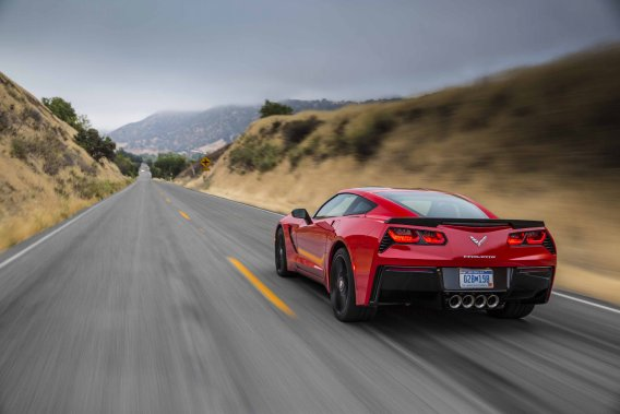 Chevrolet Corvette 2014 (Photo fournie par General Motors)