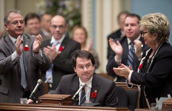 Le plus dur apprentissage de la politique, selon Bernard Drainville? «Jouer en équipe». (Photo Archives La Presse Canadienne)