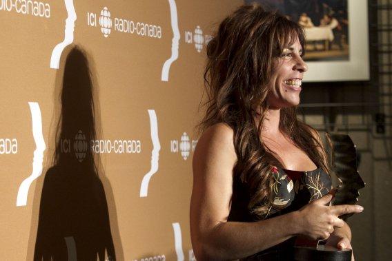 Pour la seconde fois en carrière, Anne Casabonne a remporté le prix du meilleur premier rôle dans une comédie avec son personnage de Claude dans La galère. (PHOTO HUGO-SÉBASTIEN AUBERT, LA PRESSE)