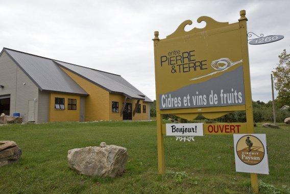 Le domaine a vendu ses premières bouteilles en 2012. (Photo David Boily, La Presse)
