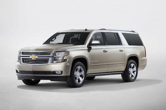 Le nouveau Chevrolet Suburban 2015.