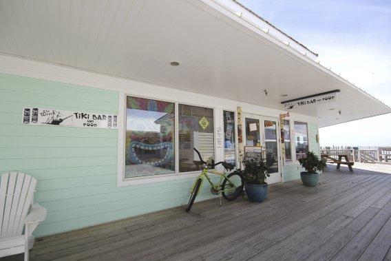 Le Wreck, un tiki bar de l'île d'Ocracoke. (Photo Charles-Édouard Carrier, collaboration spéciale)