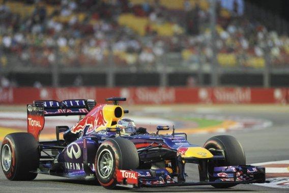 C'est la 41e pole position de Vettel en F1, et sa cinquième cette saison.