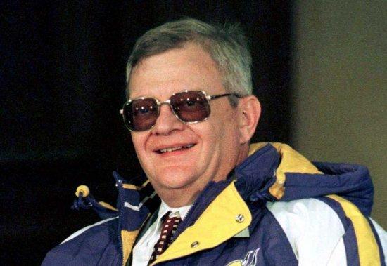 Tom Clancy en février 1998. (Photo: archives Reuters)