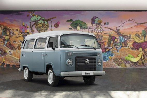 Le VW Transporter deuxième génération.