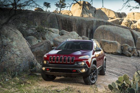 Le nouveau Jeep Cherokee.
