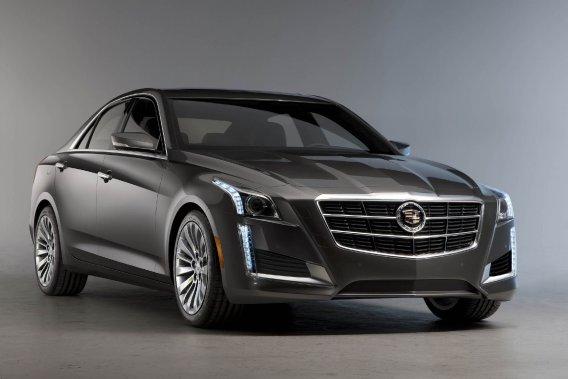 La Cadillac CTS de nouvelle génération.