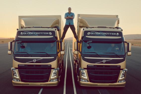 Jean-Claude Van Damme dans la dernière pub virale de Volvo.