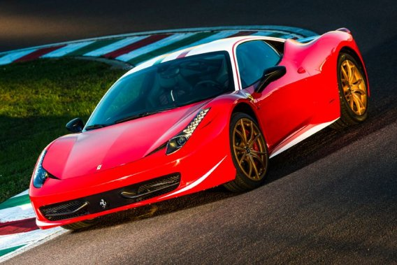 C'est un client de la marque qui a passé cette commande originale, dans le cadre du programme de personnalisation exclusif Ferrari Tailor-Made.