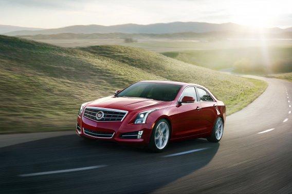 L'actuelle Cadillac ATS.